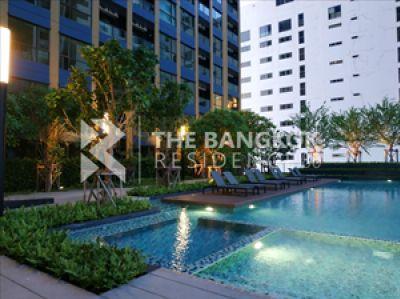 For SaleCondoRama9, New Petchburi, RCA : For Rent  Lumpini Suite Phetchaburi - Makkasan 2 bedroom 40.5 Sq.m. fully furnished ready to move in 4.5 Mb. 40.5 Sq.m. 2 bedroom 1 bathroom Full furnish 4,500,000 Baht