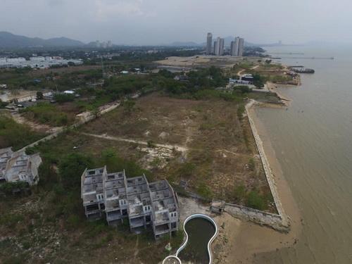 ขายที่ดินพัทยา บางแสน ชลบุรี : 6408-553 ขาย ที่ดิน ติดทะเล แสนสุข ชลบุรี ติดถนน 2 ด้าน หน้าติดทะเล