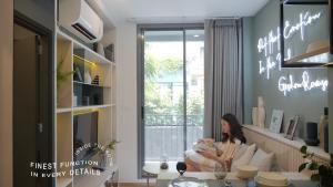 For RentCondoOnnut, Udomsuk : The Nest Sukhumvit 71, fully furnished, ready to move in