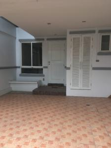 For RentTownhouseRatchadapisek, Huaikwang, Suttisan : 3-storey townhome for rent, Meng Chai, near Rama 9 Expressway