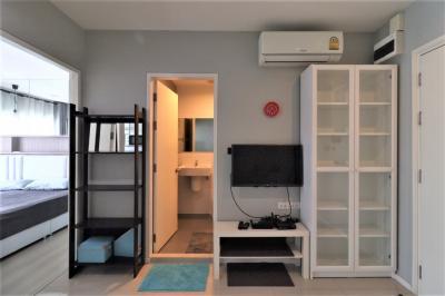 For RentCondoOnnut, Udomsuk : Condo for rent Aspire Sukhumvit 48 Price 10,000 Baht Size 32 Sqm.Bedroom 1 Floor 19 View Building