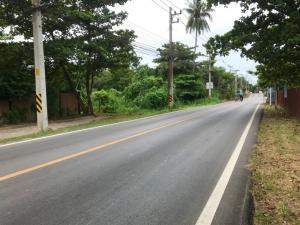ขายที่ดินราชบุรี : ที่ดินดำเนินสะดวก 14-1-63 ไร่ แปลงสวย อยู่ในย่านแหล่งท่องเที่ยวตลาดน้ำดำเนินสะดวกและอัมพวา หน้าติดถนน หลังติดคลอง เหมาะทำรีสอร์ท