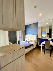 เช่าคอนโดสยาม จุฬา สามย่าน : เช่าด่วน !! ห้องแต่งสวยมาก ชั้นสูงวิวสวย Ashton Chula-Silom