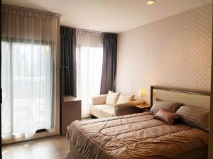 For RentCondoRama9, RCA, Petchaburi : For rent Life Asoke Rama 9, new condo, next to MRT Rama 9.