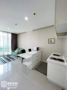 เช่าคอนโดพระราม 9 เพชรบุรีตัดใหม่ : TC023_ 💍TC GREEN RAMA 9 spacious rooms, ready to move in.
