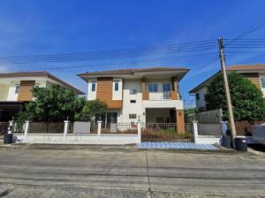 ขายบ้านรังสิต ธรรมศาสตร์ ปทุม : ขาย บ้านเดี่ยว มือสอง 2 ชั้น พร้อมอยู่ โครงการ บ้านภูมิสิริ (รังสิต-คลอง 7) บ้านภูมิสิริ (รังสิต-คลอง 7) 135 ตร.ม. ตรม. 50 ตร.วา