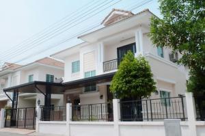 For SaleHouseSamrong, Samut Prakan : 🔥Hot Sale🔥**[home for sale] Baan Burirom The Innovattion Theparak-Suwannabhumi
