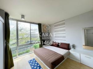 For RentCondoPattanakan, Srinakarin : The iris rama 9 srinakarin for rent 1 bed 1 bath.32 sq.m fully furnished 6,500 THB  FL.3 K.Bee 064146-6445 (R5696)