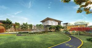 For SaleTownhouseBangna, Lasalle, Bearing : H557-Townhome 3 storey for sale, new project Altitude Kraf Bangna, near Mega Bangna.