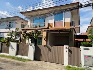 For RentHouseBangna, Bearing, Lasalle : House for rent, 3 bedrooms, 2 bathrooms, Maldives Palm Project, Bangna Km 8, Ring Road, near Mecca Bangna 🔥🔥