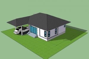 ขายบ้านพัทยา บางแสน ชลบุรี : ขายบ้านเดี่ยว 200 ตารางวา สร้างใหม่ ใกล้นิคมฯ ศรีราชา