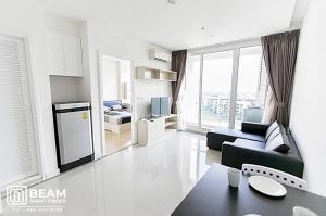 เช่าคอนโดพระราม 9 เพชรบุรีตัดใหม่ : TC024_W    🎎 TC GREEN RAMA 9  🎊   high floor wide room ready to stay