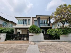 For RentHouseKaset Nawamin,Ladplakao : 2 storey detached house for rent, Kaset-Nawamin, Ramintra 14, near Ram Inthra-At Narong Expressway.