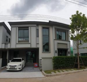 For RentHouseRangsit, Thammasat, Patumtani : 2 storey detached house for rent, Phaholyothin-Rangsit, near Future Park Rangsit.