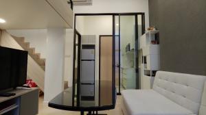 เช่าคอนโดพระราม 9 เพชรบุรีตัดใหม่ : Chewathai Residence Asoke duplex 30 ตรม ราคาพิเศษ !!!! 15000