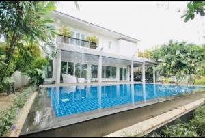 เช่าบ้านอ่อนนุช อุดมสุข : บ้านเดี่ยวพร้อมสระว่ายน้ำให้เช่า ซอยสุขุมวิท 71 พระโขนง House with Private swimming Pool in Sukhumvit 71 For Rent