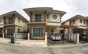 ขายบ้านอยุธยา : PH_01042 ขาย บ้านแฝดไตล์บ้านเดี่ยว หมู่บ้าน ร่มรื่น กรีน พาร์ค