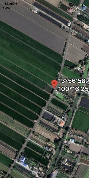 ขายที่ดินนครปฐม พุทธมณฑล ศาลายา : ขายที่ดิน20ไร่1งาน64ตรว.ทำเลสวยบางเลนนครปฐม