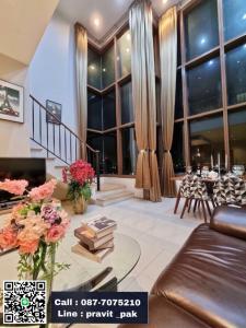 เช่าคอนโดสุขุมวิท อโศก ทองหล่อ : For Rent The Emporio Place Sukhumvit 24 Duplex Room Special Price...!!!
