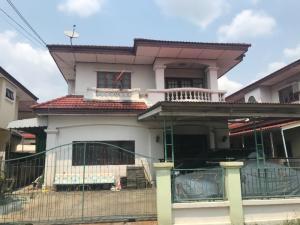 ขายบ้านนครปฐม พุทธมณฑล ศาลายา : ขายบ้านเดี่ยว หมู่บ้านเมืองดี ทำเลร่มรื่น พุทธมลฑลสาย 2