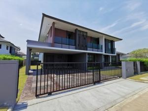 ขายบ้านนครปฐม พุทธมณฑล ศาลายา : BH_01130 ขาย บ้านเดี่ยว หมู่บ้าน เศรษฐสิริ ทวีวัฒนา