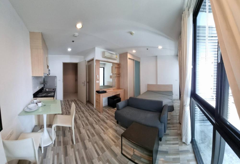 For RentCondoRatchadapisek, Huaikwang, Suttisan : For rent, Ideo Ratchada-Huay Kwang, Studio room, size 25 sqm., 7th floor, very cheap price.
