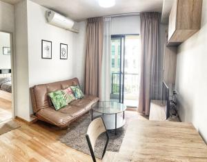 For RentCondoBangna, Bearing, Lasalle : (H152)Condo for rent near BTS Bearing Unio Sukhumvit 72 with furniture and electrical appliances2 sq.m. 1 bedroom 1 bathroom 3rd floor