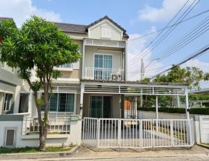 ขายบ้านสำโรง สมุทรปราการ : SH_01071 ขาย บ้านแฝด หมู่บ้าน เดอะ วิลเลจ ซอย มหาชัย ถนนบางนา-ตราด กม.10