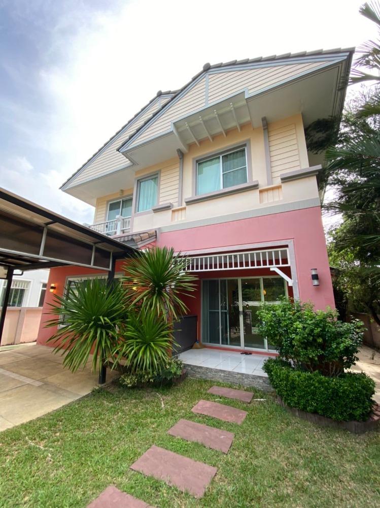 ขายบ้านท่าพระ ตลาดพลู : ขายบ้านเดี่ยว หมู่บ้านนันทวัน สาทร - ราชพฤกษ์ ใกล้ BTS และ MRT บางหว้า บ้านสวย แต่งครบพร้อมอยู่ บ้านหัวมุม ส่วนตัว สงบ