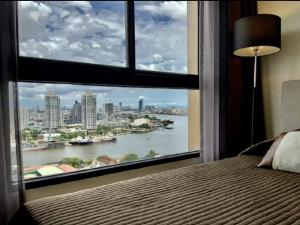 For RentCondoWongwianyai, Charoennakor : Condo for rent and sale, Chao Phraya River view # Condo Niche Mono Charoen Nakhon, only 10 minutes to Sathorn, Silom, near BTS Krung Thon Buri, size 2 bedrooms, 49 sqm., with 2 rooms, the same location, 23rd floor and 25th floor, balcony on the east side