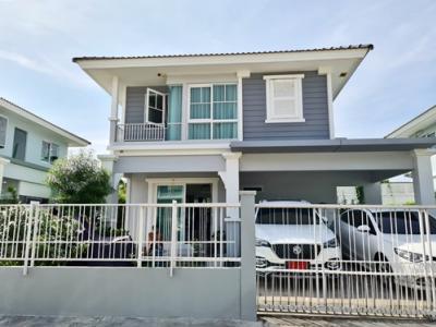 For SaleHouseSamrong, Samut Prakan : SH_01062 House for sale Village Villaggio Bangna