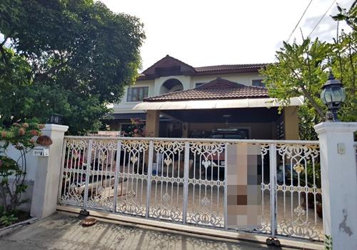 For SaleHouseSamrong, Samut Prakan : SH_01058 House for sale K.C. Natural Ville Tumru - Bang Phli