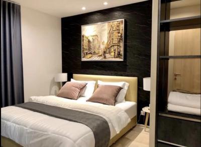 For RentCondoWitthayu,Ploenchit  ,Langsuan : 🔥🔥For rent Life one wireless🔥🔥  2 bedrooms, 1 bathroom, 45 sq.m., 12A floor,
