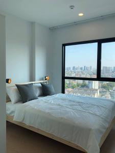 For RentCondoSukhumvit, Asoke, Thonglor : For rent  The Tree Sukhumvit 71-Ekamai  - 1Bed , size 27 sq.m., Beautiful room, fully furnished.