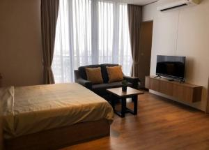 For RentCondoSukhumvit, Asoke, Thonglor : Room for rent! Condo Park 24 Origin, near BTS, high floor, fully furnished, ready to move in