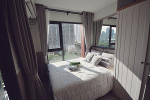 For RentCondoRama9, Petchburi, RCA : @condorental ให้เช่า Life Asoke Hype ห้องสวย ราคาดี พร้อมเข้าอยู่!!