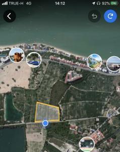 ขายที่ดินระยอง : ขายที่ดิน ใกล้หาดพลา ระยอง เหมาะทำโรงแรม รีสอร์ท หมู่บ้านจัดสรร เขตEEC