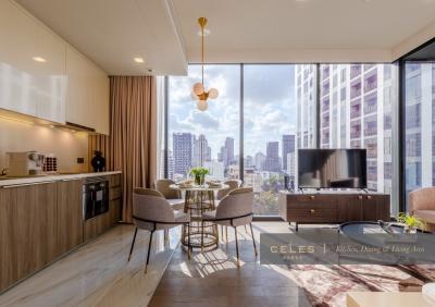 For SaleCondoSukhumvit, Asoke, Thonglor : [For Sale] Luxury Condo Celes Asoke  2 Bedroom, near BTS Asoke