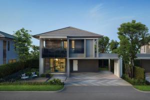 ขายบ้านลาดพร้าว101 แฮปปี้แลนด์ : ขาย บ้านเดี่ยว เศรษฐสิริ กรุงเทพกรีฑา 2 223 ตรม. 75 ตร.วา