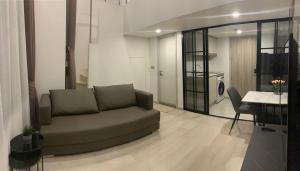 เช่าคอนโดสาทร นราธิวาส : 🔥ให้เช่าด่วน Knightsbridge Prime Sathorn Duplex Type🔥1ห้องนอน 1ห้องน้ำ 37ตร.ม ชั้นสูง ห้องแต่งครบ พร้อมเข้าอยู่ โทร 065-979-5246 โพสเตอร์