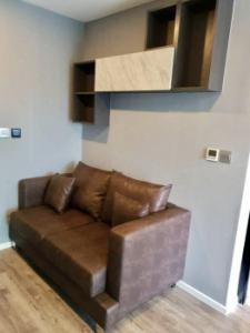For RentCondoRatchadapisek, Huaikwang, Suttisan : Condo for rent Modiz Ratchada 32 24 sq m. Beautiful room, good view, fully furnished.  Easy access by both public transport and MRT