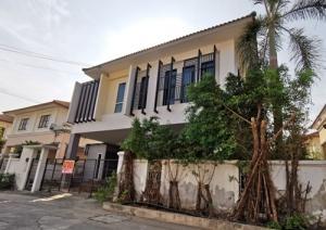 For SaleHouseRamkhamhaeng,Min Buri, Romklao : BH_01061 House for sale K.C Lakeview Ramkhamhaeng