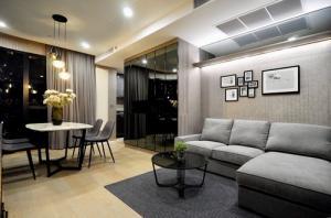 เช่าคอนโดสยาม จุฬา สามย่าน : 6408-151 ให้เช่า คอนโด สยาม จุฬา MRTสามย่าน Ashton Chula-Silom 2ห้องนอน ชั้นสูง พร้อมอยู่