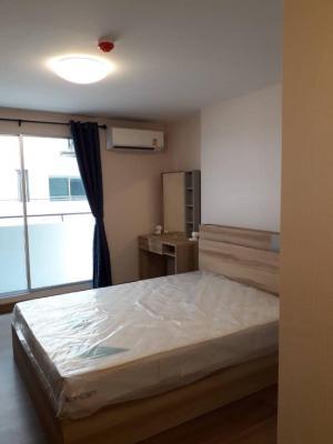 For RentCondoRangsit, Patumtani : Beautiful room, new room is ready. Plum Phaholyothin 89 Phase 3B, 5th floor, complete electrical appliances.