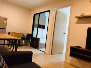 For RentCondoRangsit, Thammasat, Patumtani : Cave Condo, opposite Bangkok University, 2 bedroom unit, very spacious, open and comfortable room, complete electrical appliances, you can move in