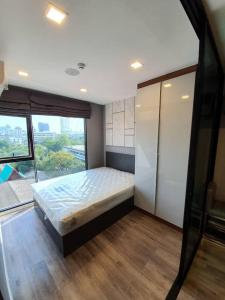 For RentCondoRatchadapisek, Huaikwang, Suttisan : For rent ❗️❗️FLASH SALE❗️❗️ with washing machine, easy to travel, MRT Lat Phrao, fully furnished, ready to move in