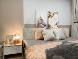 For RentCondoVipawadee, Don Mueang, Lak Si : Reach Condo for rent (Phahonyothin 52) 🔥 very beautiful room