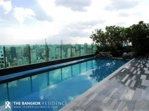For SaleCondoRama9, RCA, Petchaburi : Rare Item!! The Address Asoke @11MB - High Floor 20+ Large Room  Near MRT Phetchaburi
