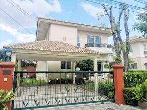 For RentHouseLadkrabang, Suwannaphum Airport : House for rent Supalai Suan Luang Chaloem Phrakiat Rama 9 Road size 80 sq.wa. 4 bedrooms