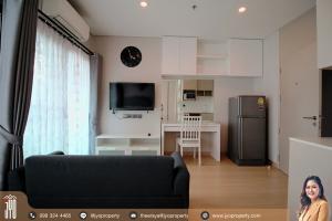 For RentCondoRama9, RCA, Petchaburi : JY-R00110-For Rent Condo Lumpini Suites Phetchaburi – Makkasan on 5th floor 21sq.m. Studio 1bath